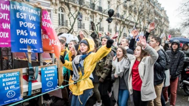 La marche pour la vie 2020
